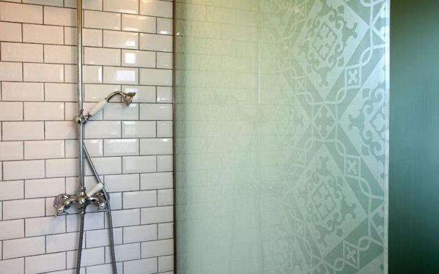 Pare douche verre porte douche italienne avec breuer - Pare douche fixe ...