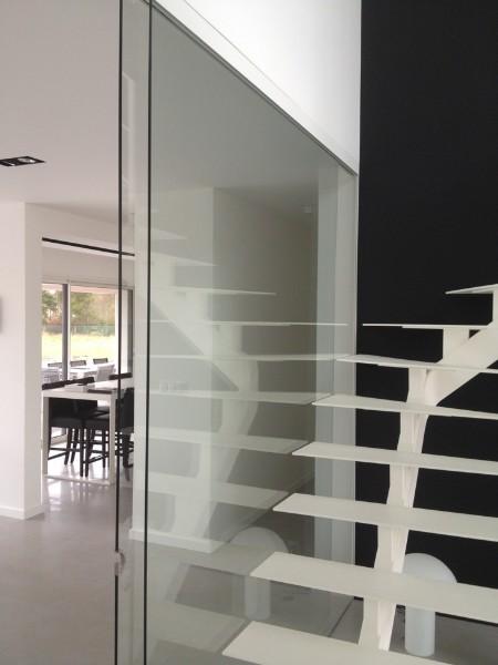 cloisons en verre atelier du verre cr ations. Black Bedroom Furniture Sets. Home Design Ideas