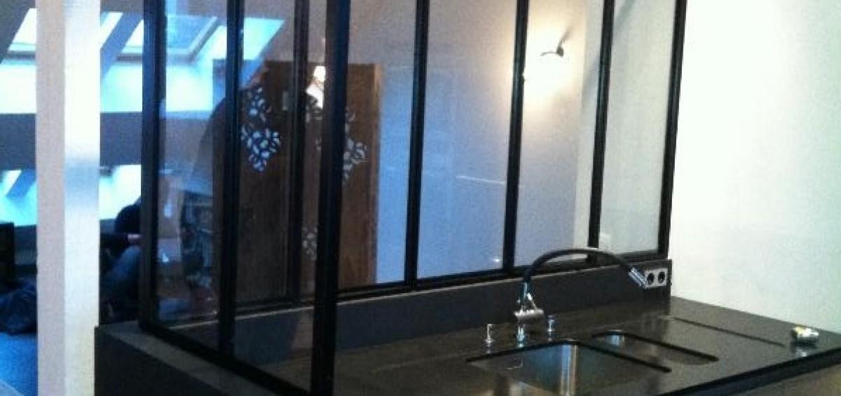 Cloisons en verre 1 353 6 for Comcloison verre atelier