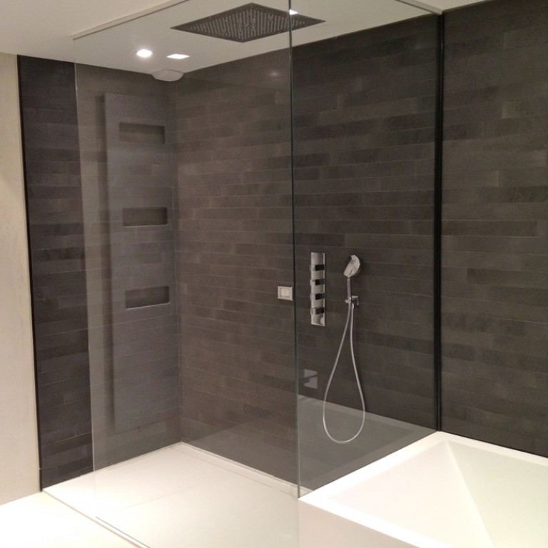 paroi de douche en verre atelier du verre cr ations. Black Bedroom Furniture Sets. Home Design Ideas