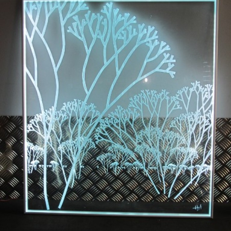 signal tique en verre atelier du verre cr ations. Black Bedroom Furniture Sets. Home Design Ideas