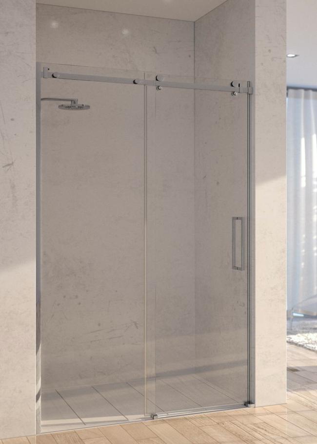 Porte de douche en verre Showerguard - Atelier du verre créations