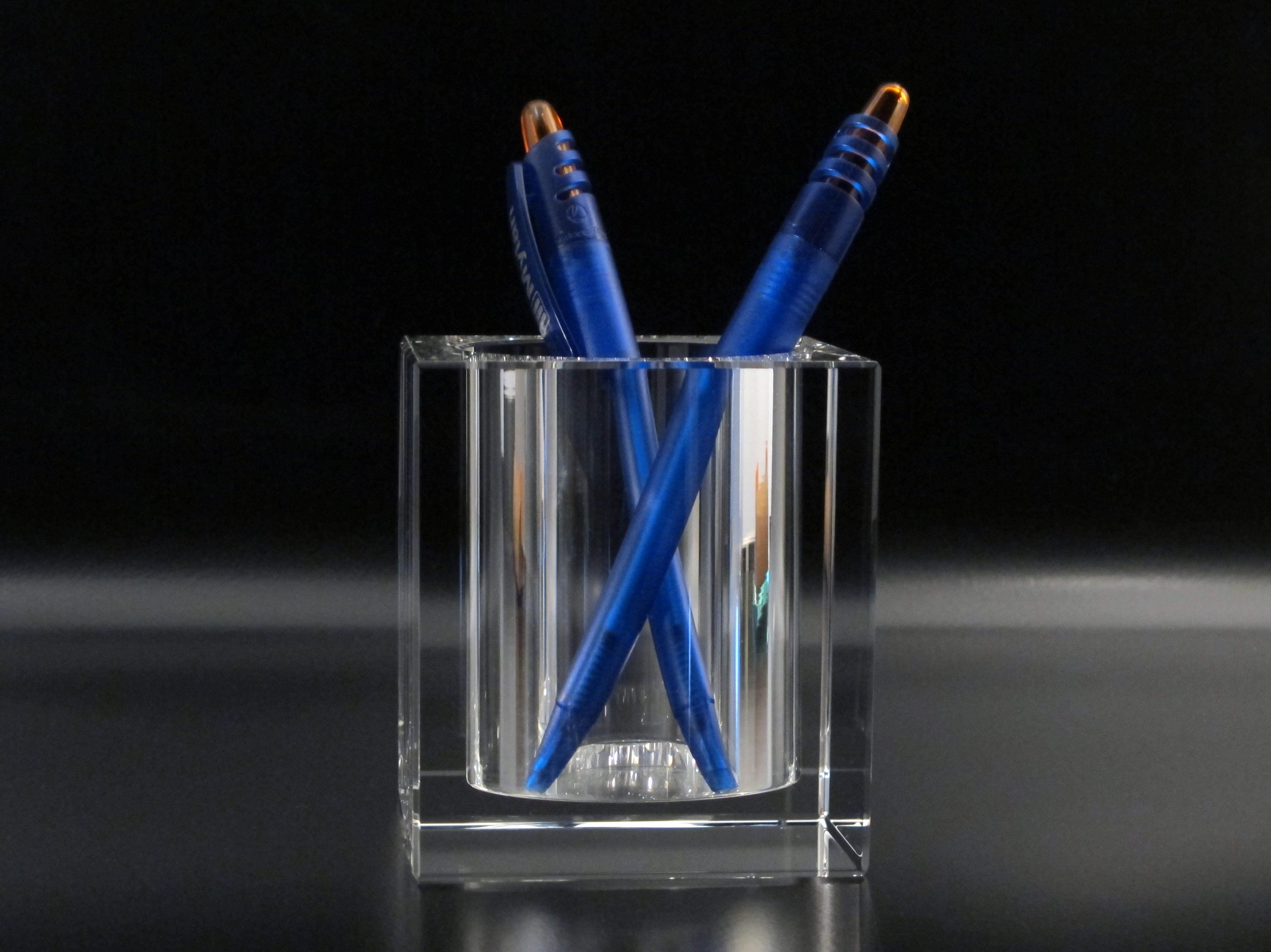 Porte stylos en verre atelier du verre cr ations - Porte stylo infirmiere pas cher ...