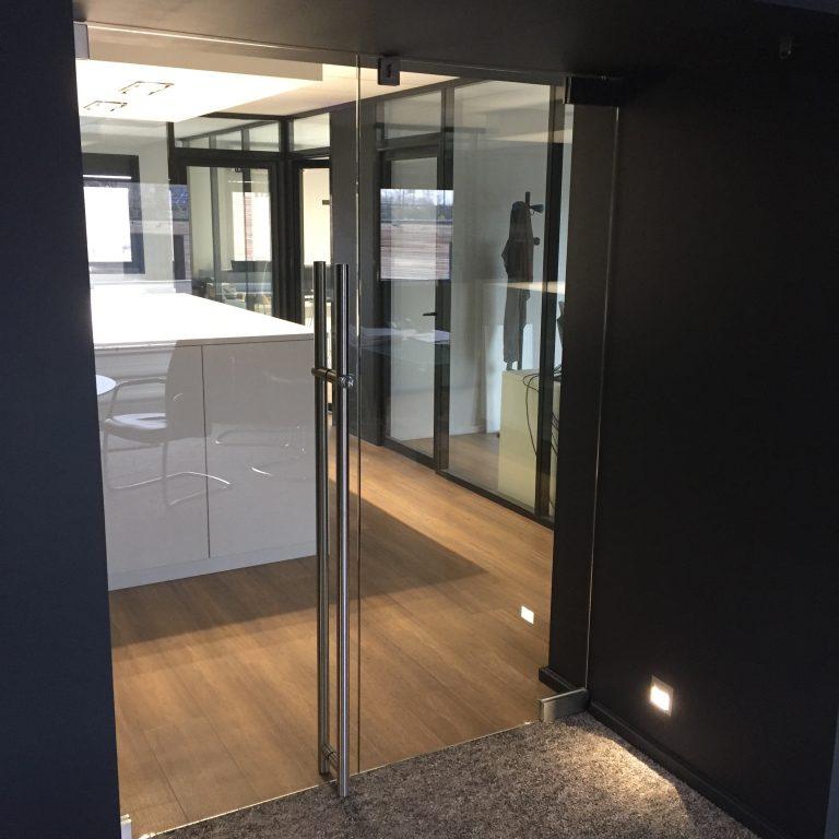 Porte En Verre Atelier Du Verre Créations - Porte en verre sur mesure